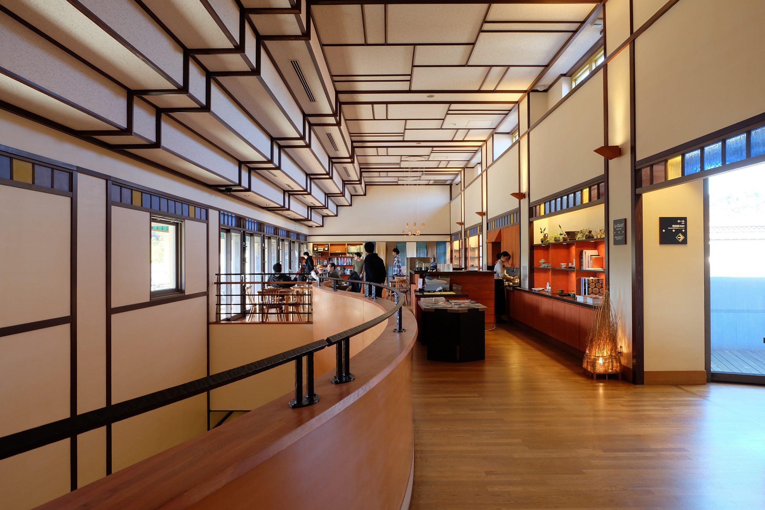 九谷焼美術館の内観