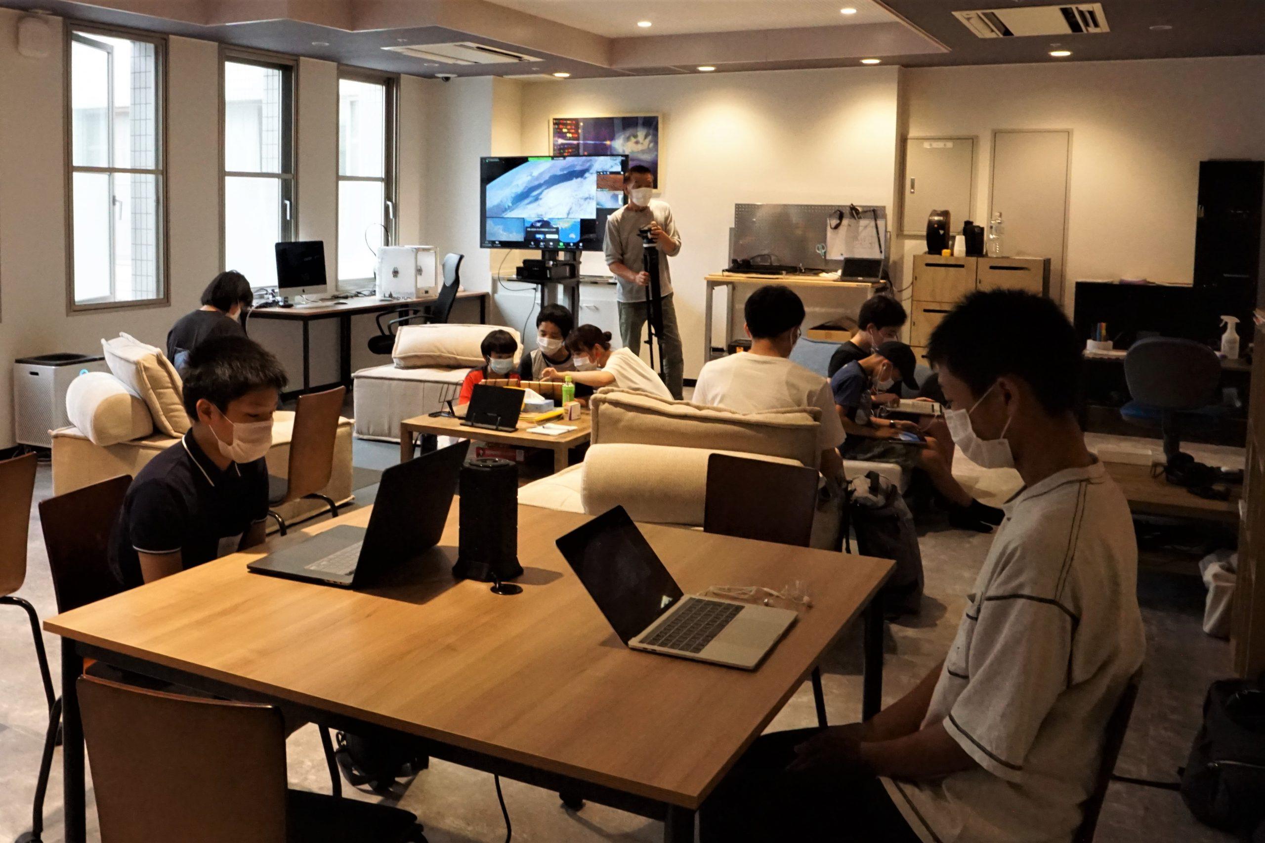 コンピュータークラブハウス加賀のリフォーム後