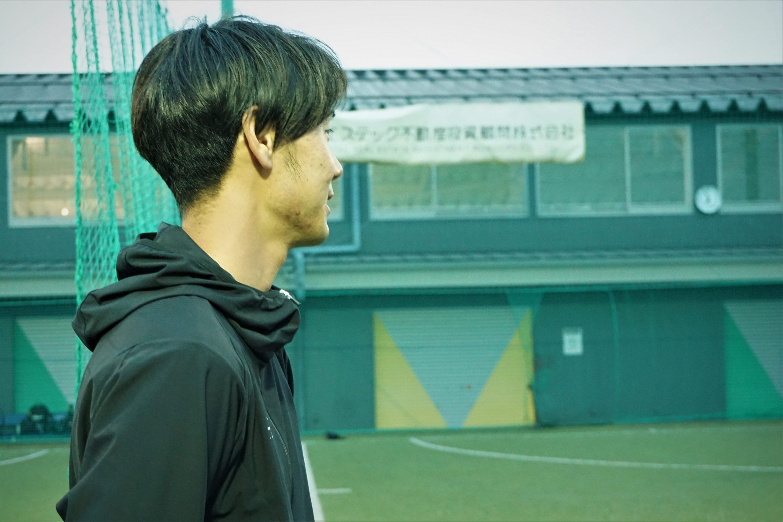 田島さんの横顔